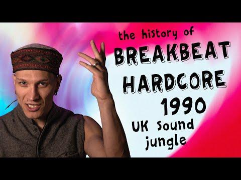 Hardcore Breakbeat 1990 Uk Sound | История рейв культуры | Ra Djan Radjan