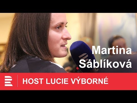 Hlídám si, kam šlapu a věřím v medaili, říká Martina Sáblíková