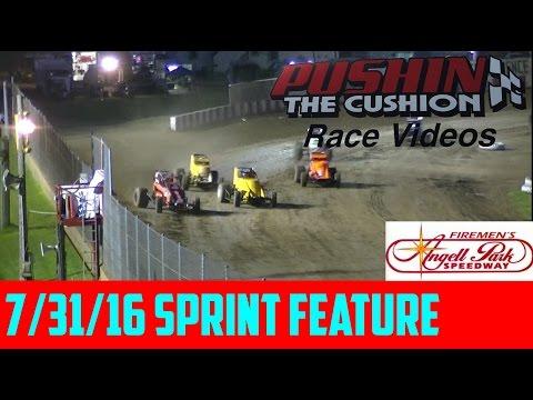 7/31/16 Angell Park Speedway: Sprint Feature