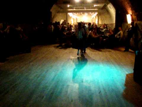 Wedding Reception Swing Dancing At The Wabasha Street Caves Mn