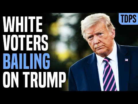 UH-OH: Trump Losing Support...from WHITE Voters