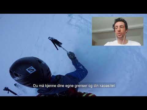 Kilian Jornet esquia el Trollveggen