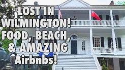 Getting lost in Wilmington NC, Short Beach Visit, Airbnb walk through, & a wedding