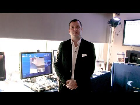 CEVA Demo of Brodmann17 Real-time Face Detection Neural Network Running on CEVA-XM4 Vision Processor