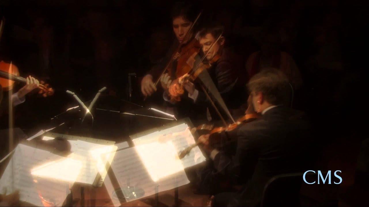 Elgar - String Quartet in E minor, Mvt. 2 - Escher String Quartet - CMS