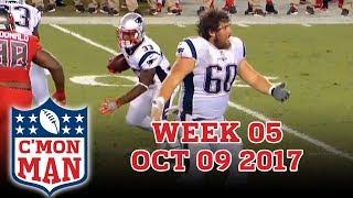 ESPN C'MON MAN! Week 05 - 10-09-2017
