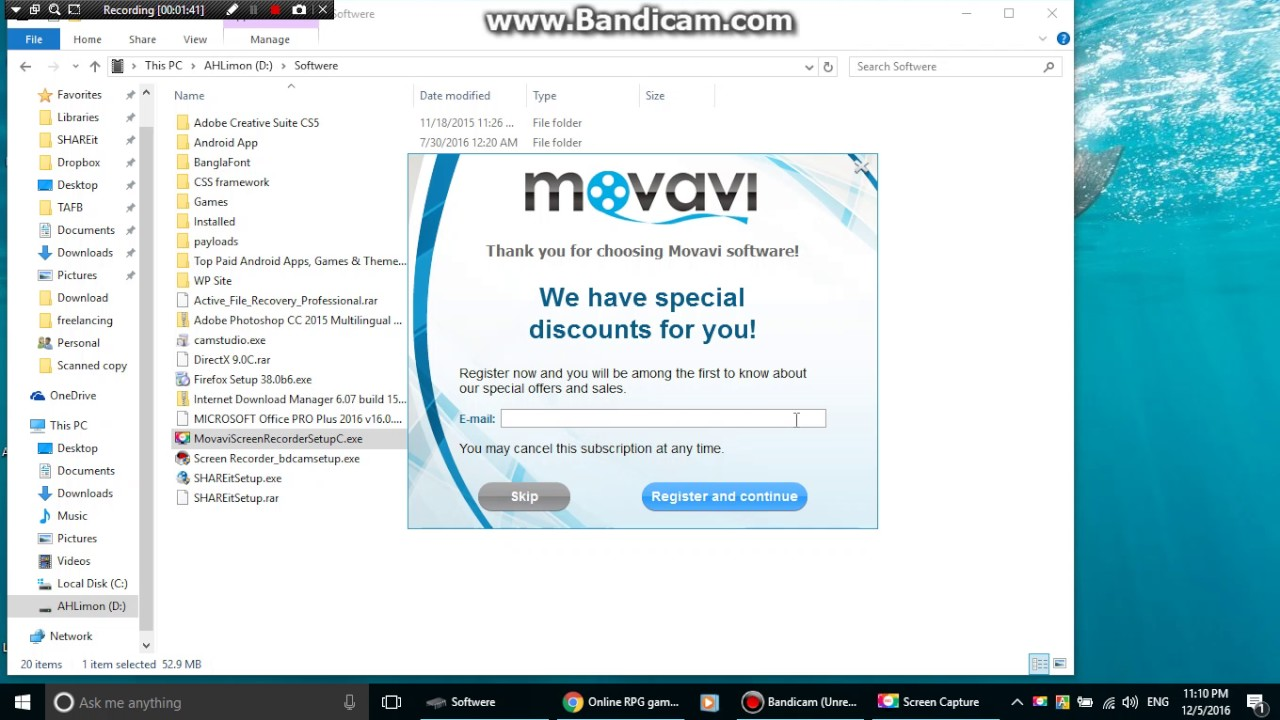 movavi screen recorder 10 serial key