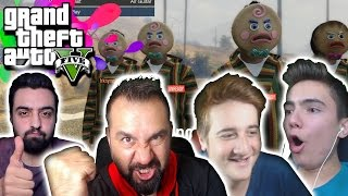 4 YOUTUBER 4 FACECAM FULL EĞLENCE! | GTA 5 ONLINE