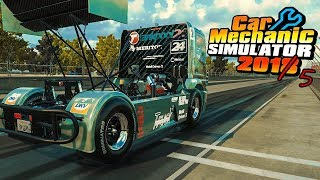 Mercedes-Benz Race Truck | Stuck In The Past | Car Mechanic Simulator 2018