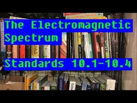 10.1-10.4: The Electromagnetic Spectrum