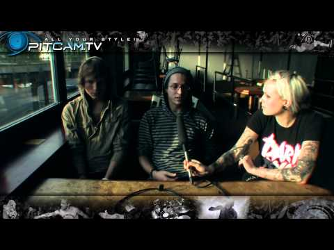 """THE WORD ALIVE - Interview with Tyler """"Telle"""" Smith & Zack Hansen // PitCam.TV"""
