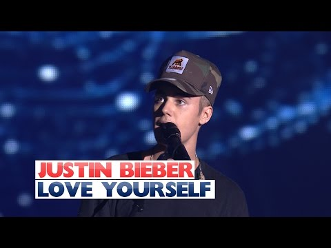 Justin Bieber - &39;Love Yourself&39; Jingle Bell Ball