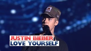 Justin Bieber Love Yourself Jingle Bell Ball 2015