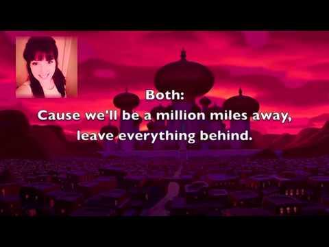 Million Miles Away ~Aladdin (Sing with Jasmine)