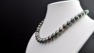 Shopping Authentic Tahitian Pearl Necklace - M. Legrand Jewelry