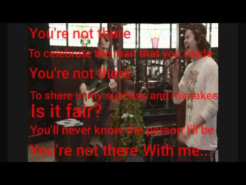 Lukas Graham-You're Not There (Lyrics)