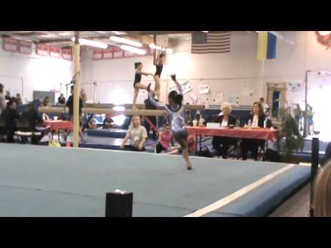 Skylar's first competition at level 5....you rock Sky! Age 9
