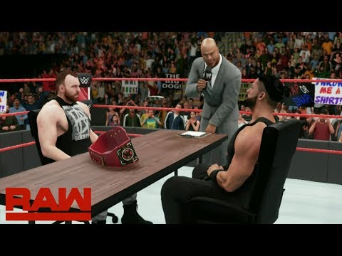 Dean Ambrose & Roman Reigns Sign SUMMERSLAM Contract & MORE!! (WWE 2K18 Story - Episode # 5)