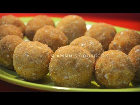 Ari Unda / അരിയുണ്ട/ Ariyunda Recipe /Recipe No: 83