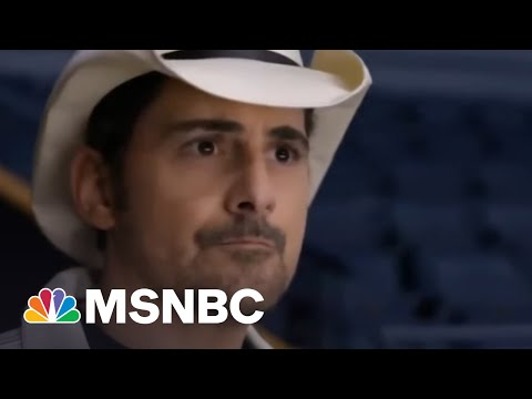 Brad Paisley Encourages Americans To Get Vaccinated, Is Ready To Get Back On The Road | Morning Joe