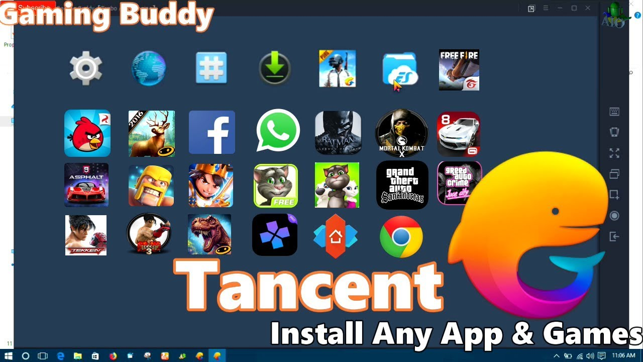 How To Install Any Games & Apps In Tencent Emulator