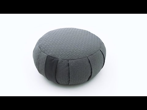 How to sew a zafu | Easy meditation cushion sewing tutorial