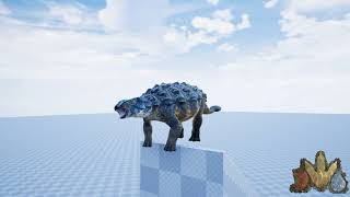 The Isle  Ankylosaurus sounds Updated