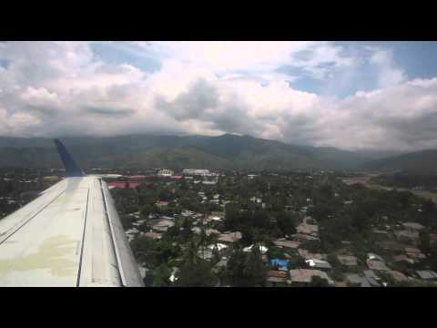 The airplane(Air North) arrived at Dili International Airport ,Timor Leste