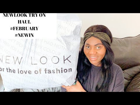 NEW LOOK TRY-ON HAUL NEW LOOK FEBRUARY 2020 NEW IN  ADEOLA DOMINIC #tryonhaul #newlook #fashiontrend
