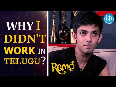 Why I Didn't Work In Telugu? - Anirudh Ravichander | Remo Movie || Talking Movies With iDream