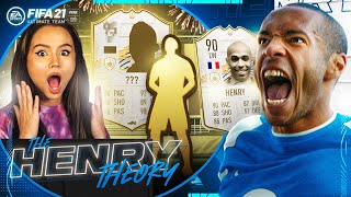TALIA OPENS THE ICON PACK! (The Henry Theory #43) (FIFA Ultimate Team)