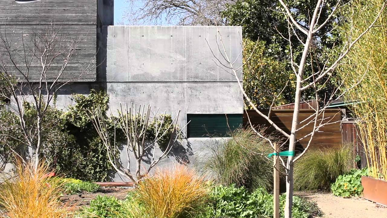 modern concrete home design - creating texture - youtube