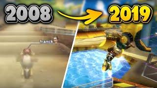 Evolution of Mario Kart Wii World Records (2008 - 2019) - MG, TF, CM, DKS