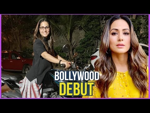 Hina Khan Is All Set To Make Her Bollywood Debut | Telly Reporter