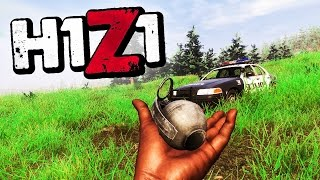 MY BEST FRAG THROW! - H1Z1 KING OF THE KILL