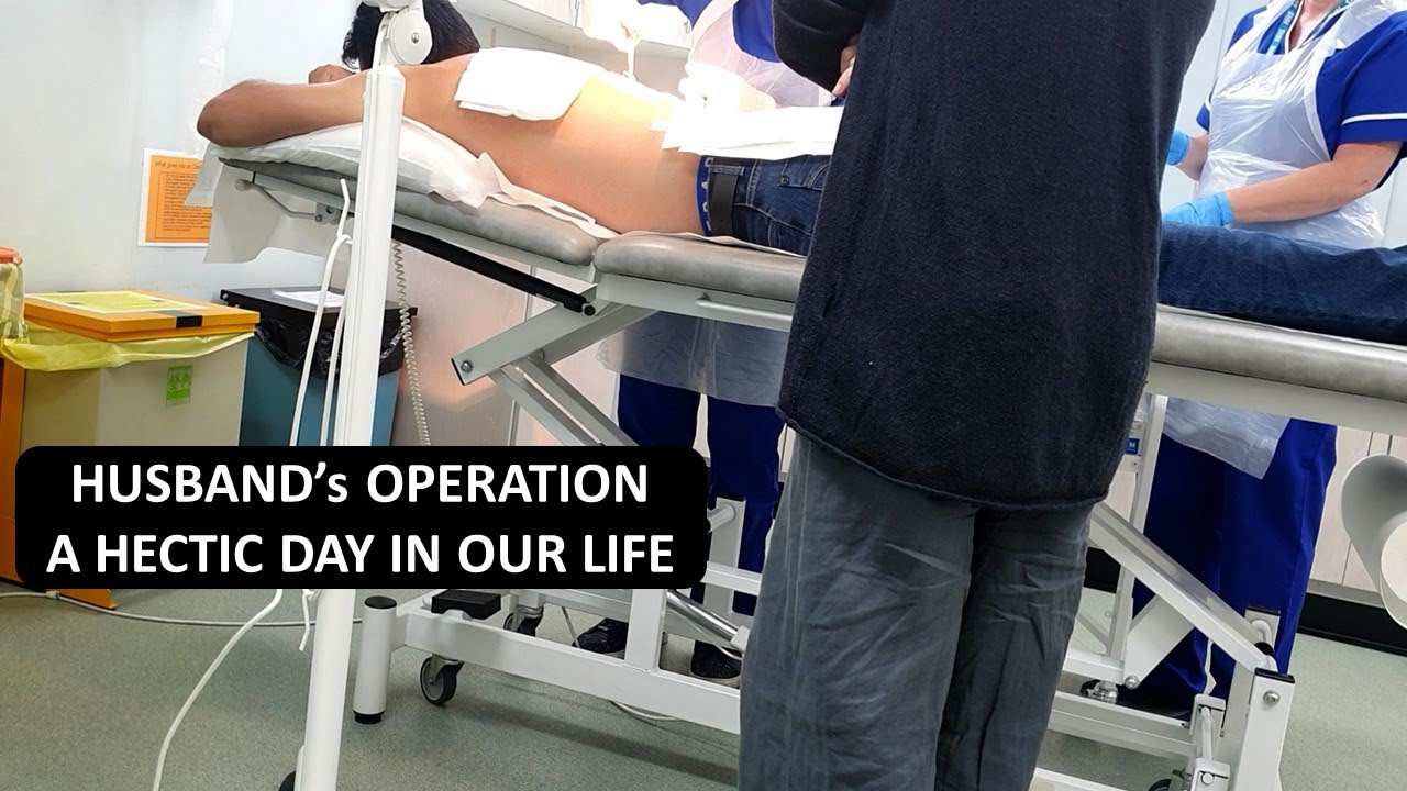 Operation is Done...Recovery in Process   A Hectic & Full of Emotions Day in Our Life