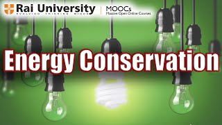 Energy Conservation - General Aspects of Energy Management