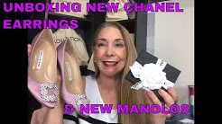 UNBOXING CHANEL 20S EARRINGS   MANOLO BLAHNIK PUMPS (FOUND ANOTHER RESELLER)   QUARANTINE SHOPPING