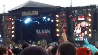 Slash - Paradise City @ Download Festival 2015