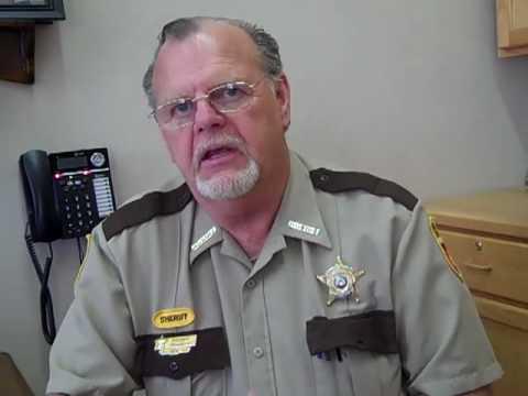 Wells County Sheriff Curt Pellett  Fessenden meth bust
