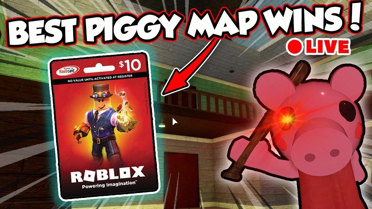🔴BEST PIGGY MAP WINS! PIGGY BUILD CONTEST - Roblox Livestream