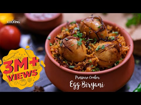 Pressure Cooker Egg Biryani | Biryani Recipe  | Ramadan Recipes