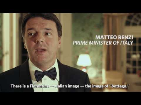 Prime Minister Matteo Renzi reflects on President Obama || Official State Dinner