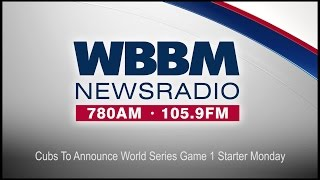 Cubs To Announce World Series Game 1 Starter Monday (Audio)