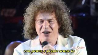 Riccardo Cocciante - Cervo a Primavera - Arena di Verona 2009 - Lyrics