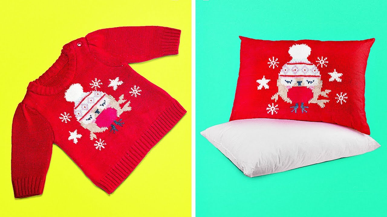 13 AWESOME PILLOW AND BLANKET IDEAS THAT ARE SO EASY TO MAKE