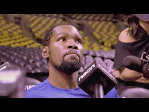 Kevin Durant Speaks About The Strengths Of The Celtics / Pregame Interview / Warriors vs Celtics