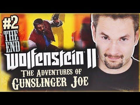 POD F, NIE?   Wolfenstein II: The New Colossus - Adventures of Gunslinger Joe #2 ENDING