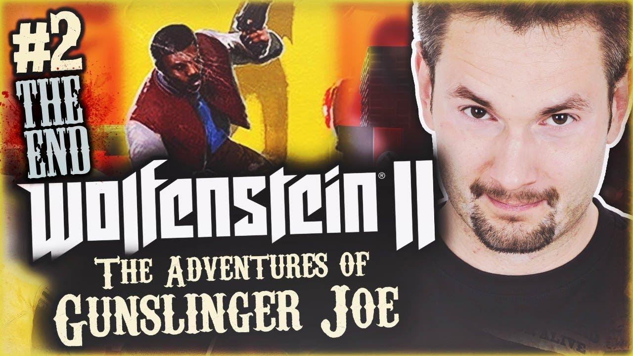 POD F, NIE? | Wolfenstein II: The New Colossus – Adventures of Gunslinger Joe #2 ENDING