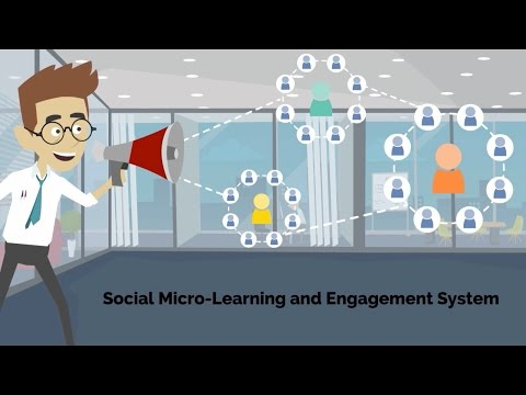 SMiLES - Social Micro-Learning and Engagement System